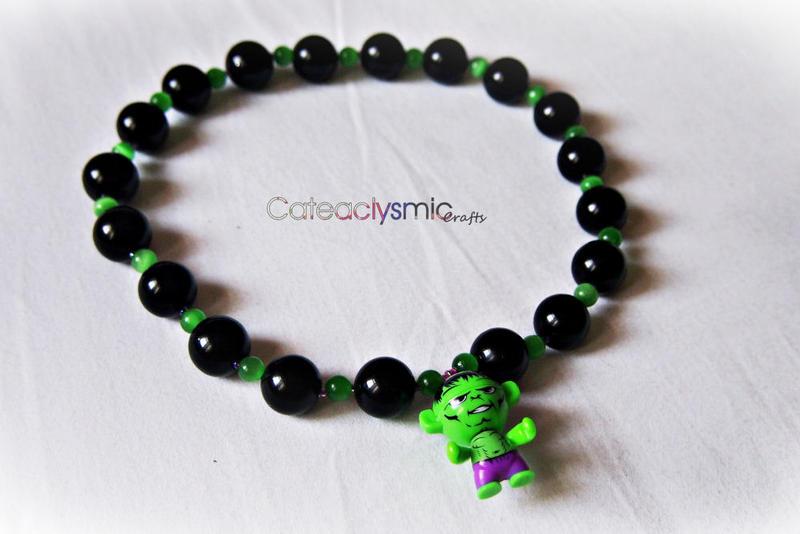 HULK Necklace by Cateaclysmic