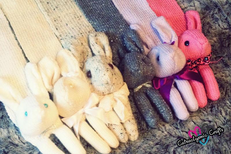 Bunny Scarves by Cateaclysmic
