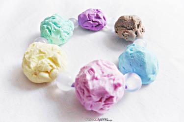 Pastel Ice Cream Bracelet