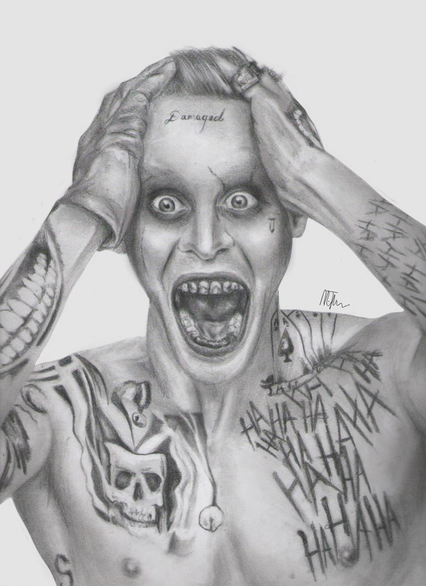 Arkham Joker Drawings In Pencil Suicide Squad J...