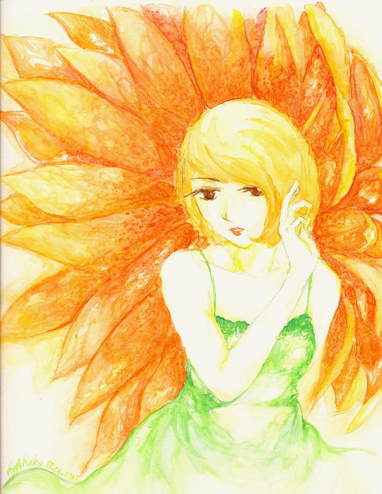 Sun Flower by kyahaku