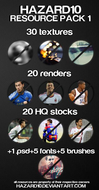 Hazard10 Resource Pack 1