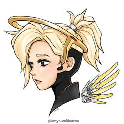 Mercy from Overwatch my style!