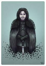 Jon Snow by lucasfranci