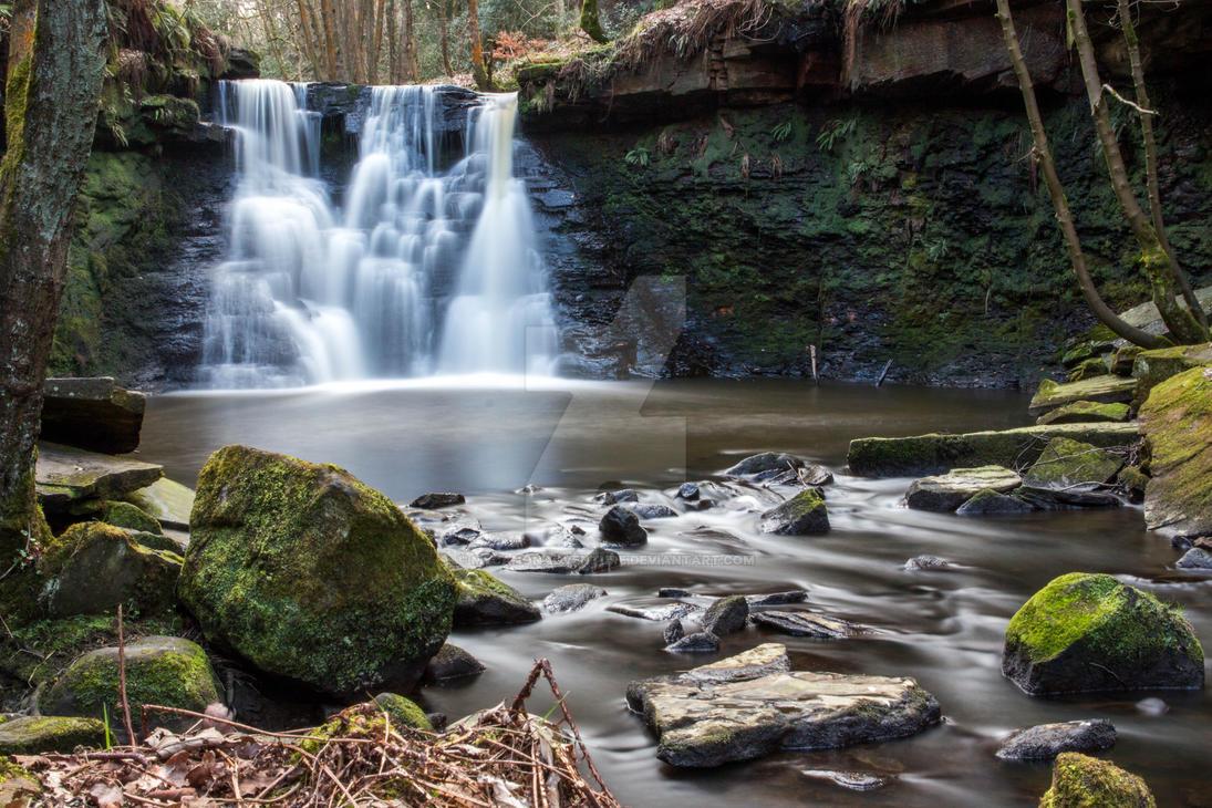 Goit Falls by mycanonadventure