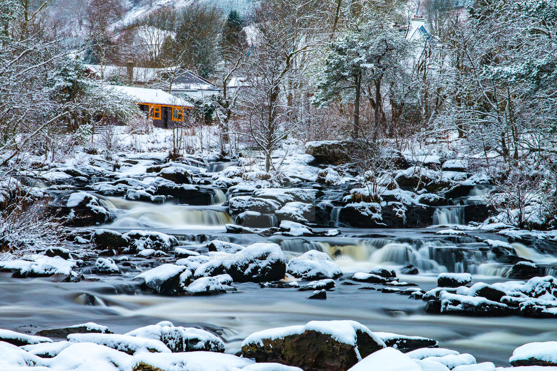 Winter in Killin by mycanonadventure