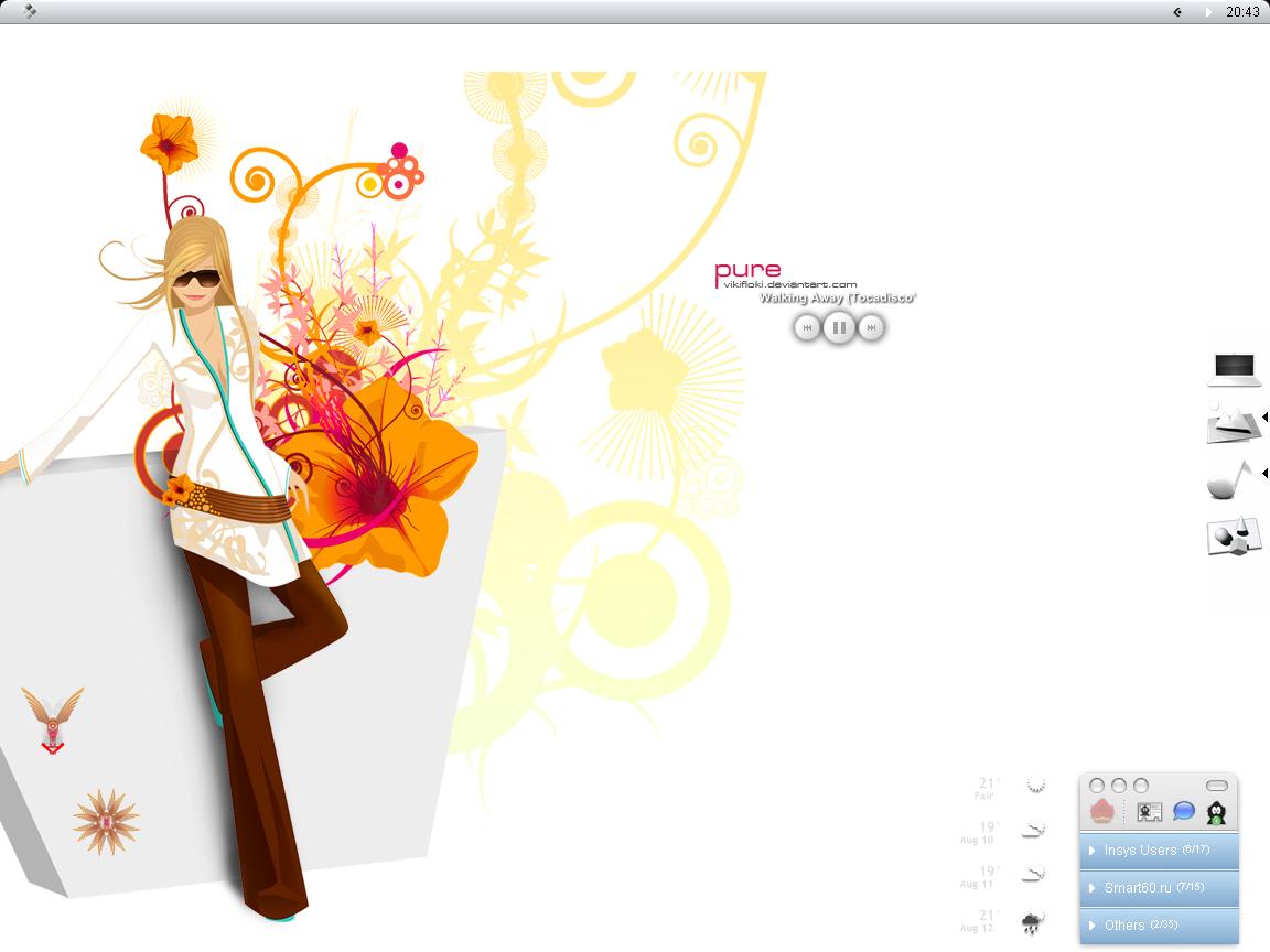 Steeply Desktop ' August 2006 by Steeply