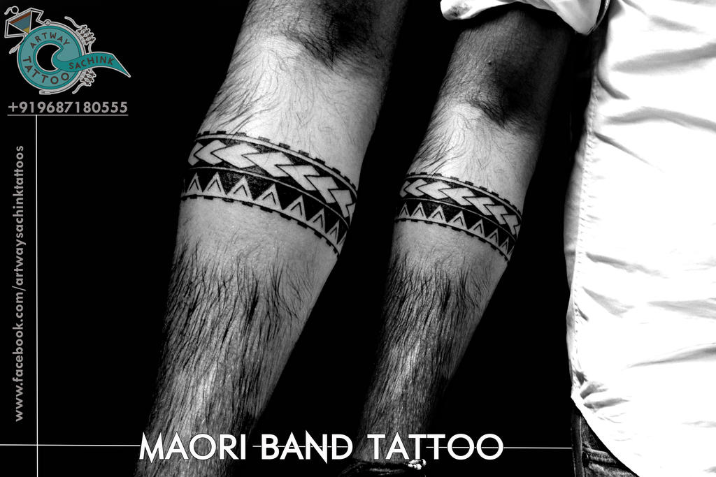maori band tattoo by artwaysachinktattoos on deviantart. Black Bedroom Furniture Sets. Home Design Ideas