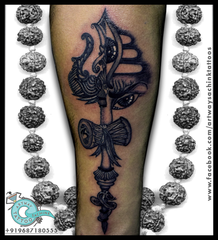 Customize Om Trishul Tattoo by artwaysachinktattoos on DeviantArt