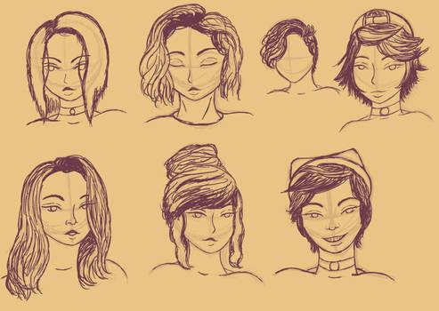 Sketch de peinados