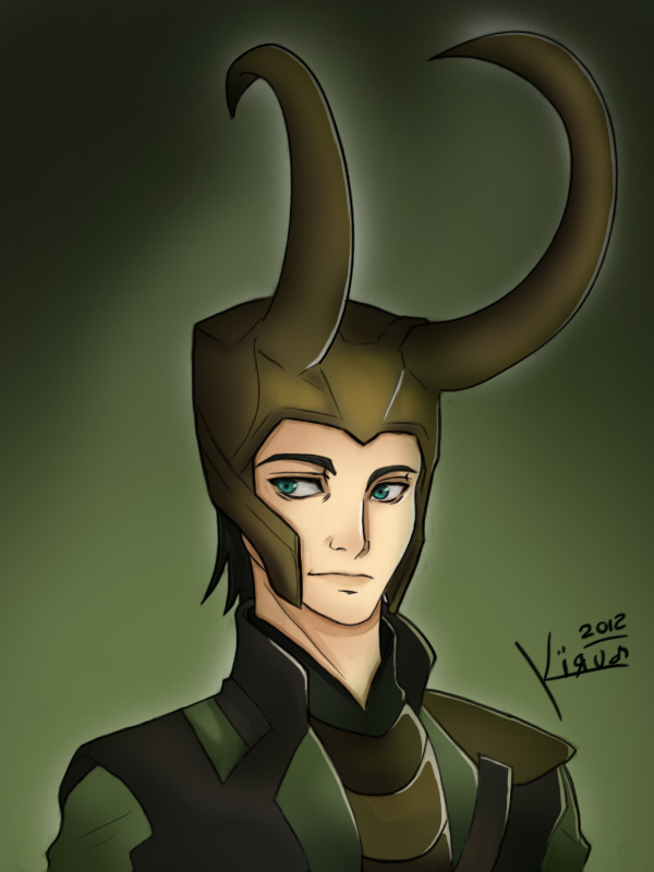 Loki by Rainbowhero