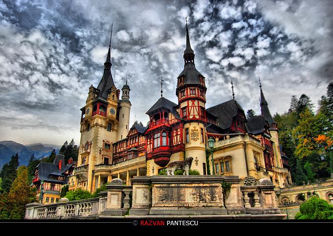 Peles castle.. by razvanx