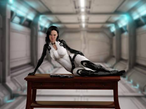 Miranda Lawson - Desk