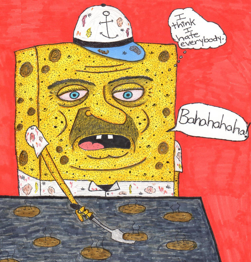 Robert the Sponge guy by DumpsterKid