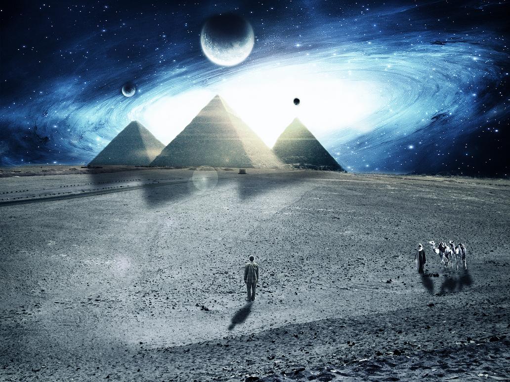 Pyramids by abdocena