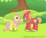 Fluttermac and Smarty Pants