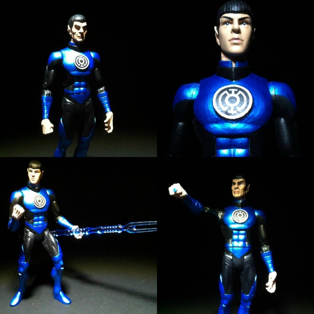 SPOCK BLUE LANTERN COLLAGE by aka-maelstrom