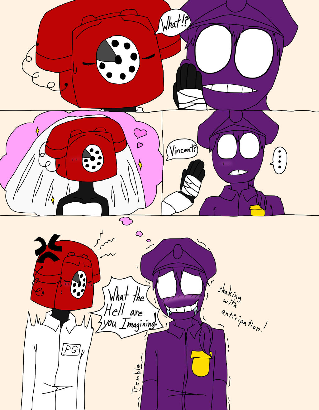 Purple Guy Fan Art X Kids
