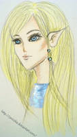 She-Elf Samidare by Janiczka
