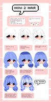 HOW 2 DRAW HAIR