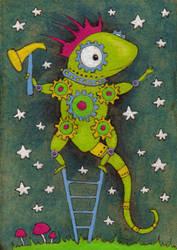Bill the Lizard by amyweber