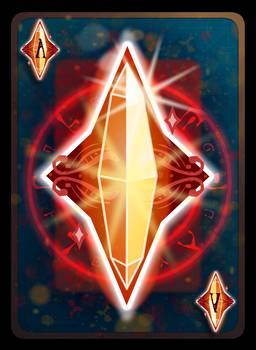 Poker Diamond Ace