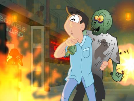 Fire in the Zombie Ward
