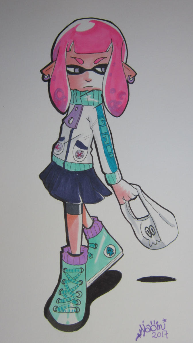 My first inkling girl ever by Thundernaky