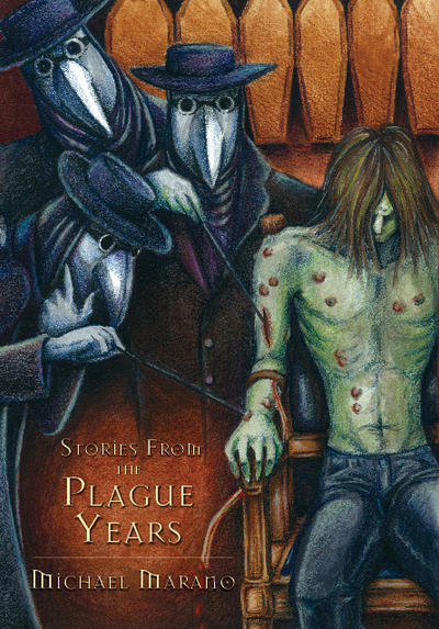 Plague Years Cover With Type by GabrielleFaust