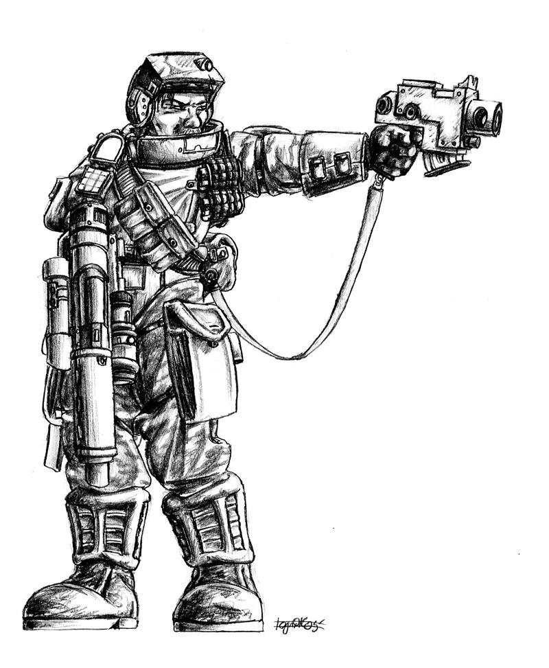 Stormtrooper Kinyaf by CommissarKinyaf