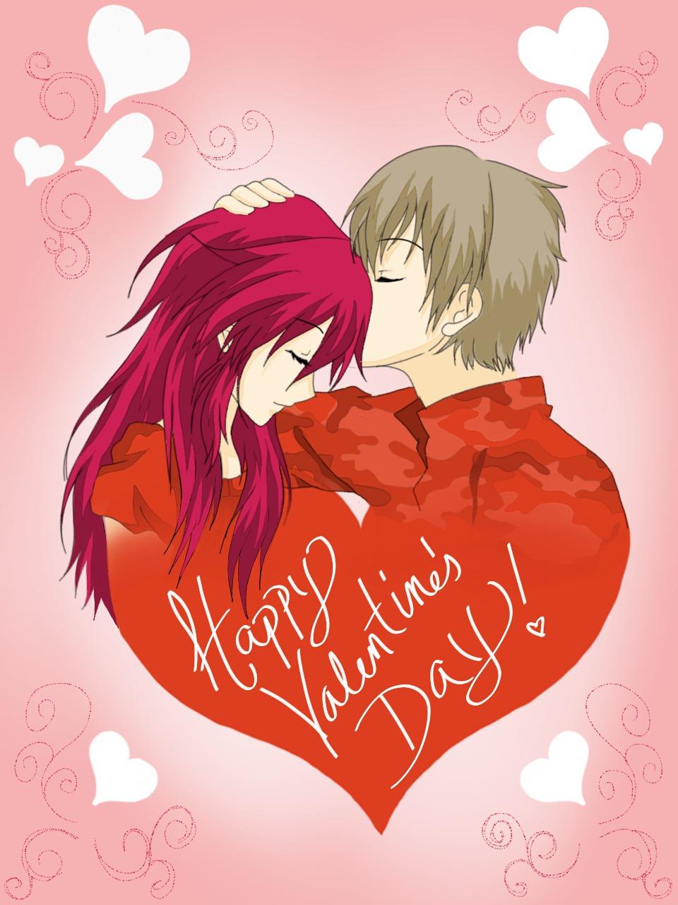 Happy Valentines Day By InaSaori Happy Valentines Day By InaSaori