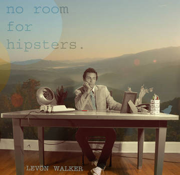 no room for hipsters CD art