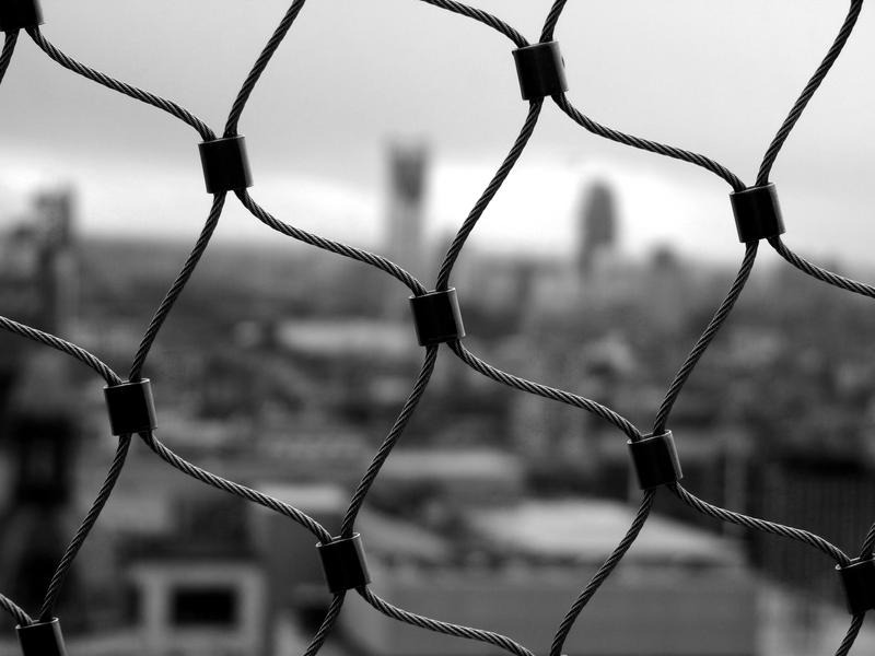 Into the cage of the city
