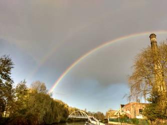 Dual rainbow  by Alimba