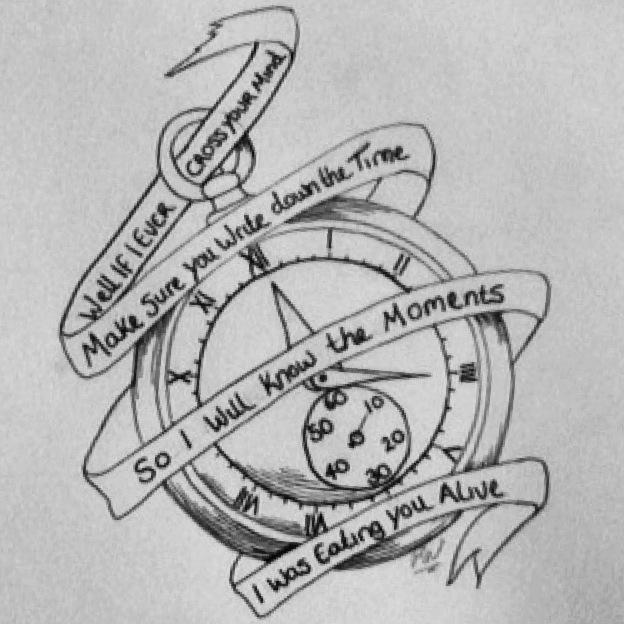 Stopwatch Tattoo Front Porch Step Lyrics By Rachhhh566