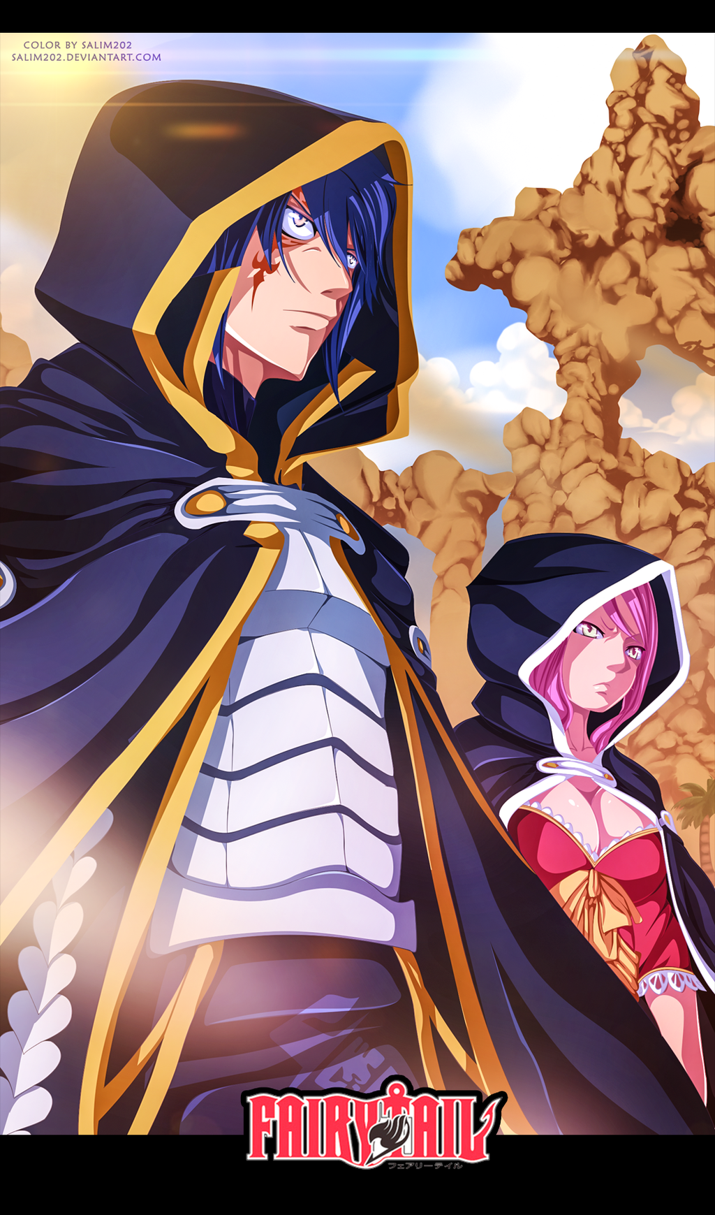 Jellal and meredy - Fairy Tail 364 by salim202
