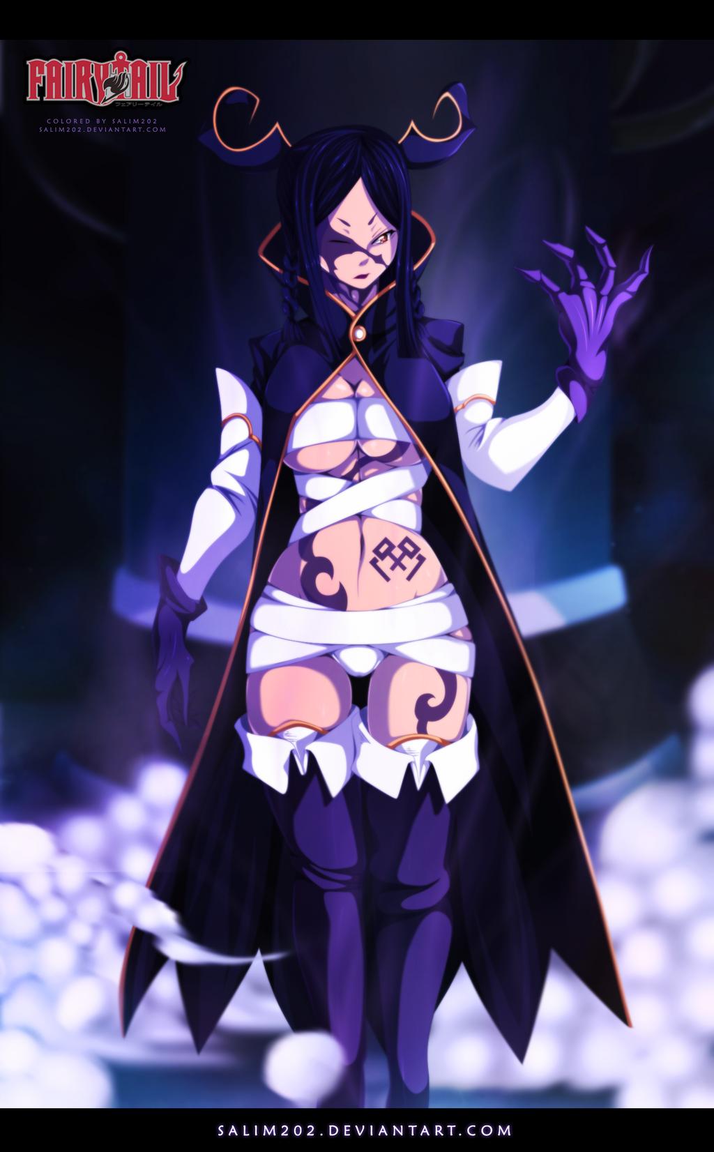Demon Minerva - Fairy Tail 370 by salim202