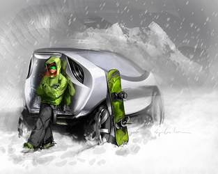 SUV sketch by cristianci
