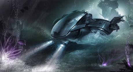 Submarine by cristianci