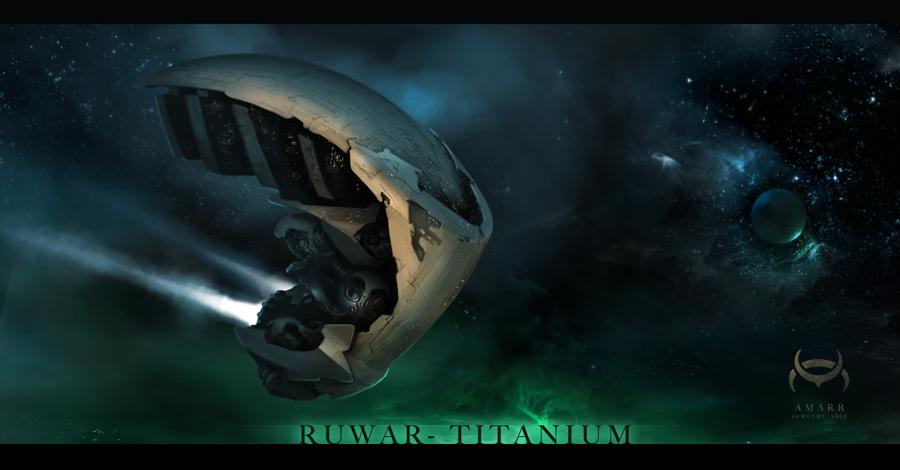 Ruwar Titanium - AMARR by cristianci