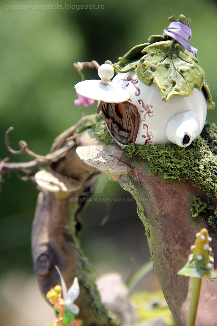 Tinkerbell diorama by cristianci