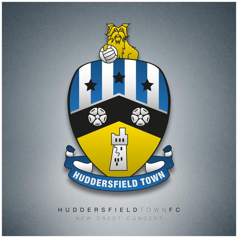 New Huddersfield Town Crest by DrPockets on DeviantArt