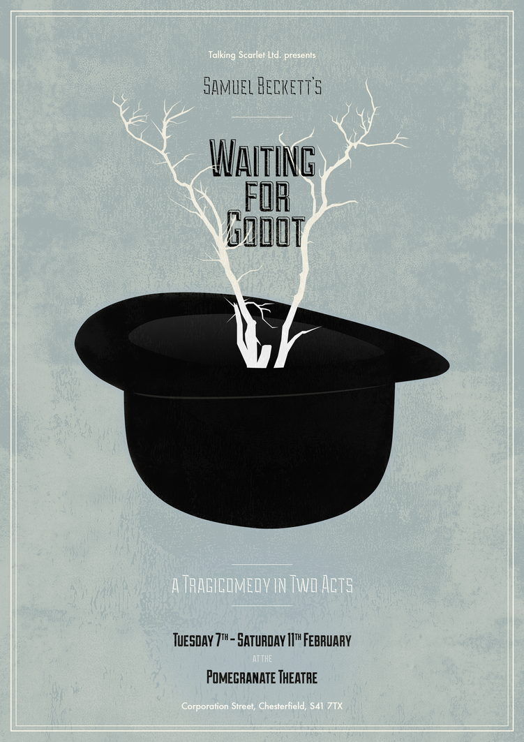 a literary analysis of waiting for godot by samuel beckett Waiting for godot study guide contains a biography of samuel beckett, literature essays, quiz questions, major themes, characters, and a full summary and analysis about waiting for godot character list.