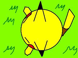 pancake pikachu by TheFlattened-Pikachu