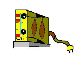 Pikachu wii by TheFlattened-Pikachu