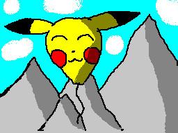 pikachu balloon by TheFlattened-Pikachu