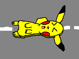 Flattened pikachu ITS ME by TheFlattened-Pikachu