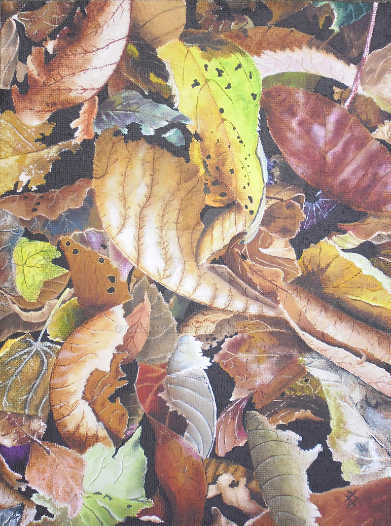 Autumn Leaves #2 by Nivekhazel