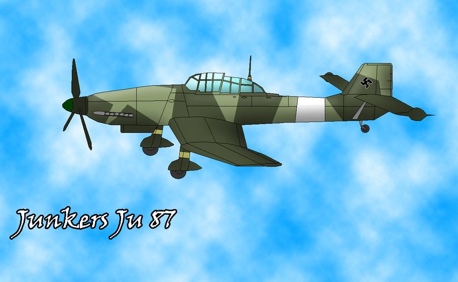Junkers Ju 87 by sudro