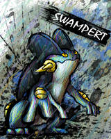 Swampert by sudro